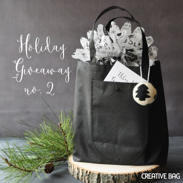 holiday giveaway #2 - enter to win! | Creative Bag