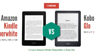 Compare E-readers Specifications Online