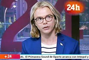Entrevista en el Canal 24 horas de TVE