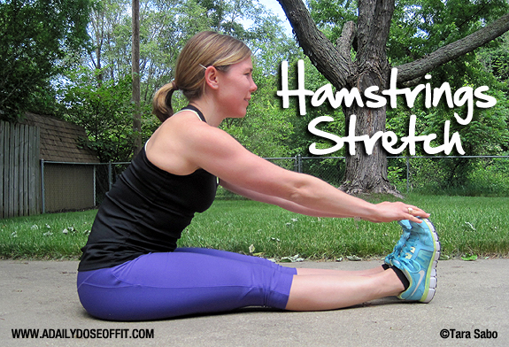 how to use hamstrings when running