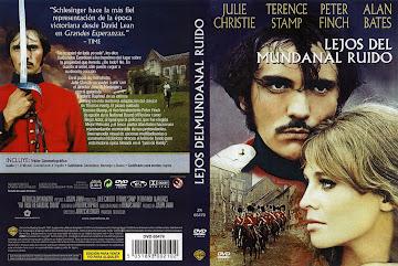 Carátula dvd: Lejos del mundanal ruido (1967) (Far From the Madding Crowd)