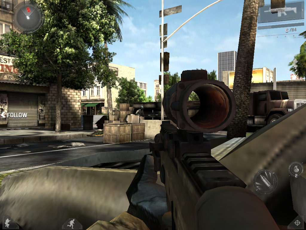 MC3 Modern combat 3 for android v1.0.0 (apk+data).rar