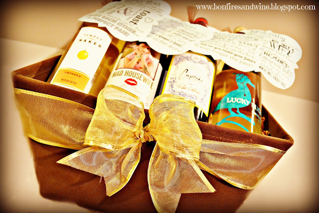 & Bonfires and Wine: DIY Wine Wedding Gift
