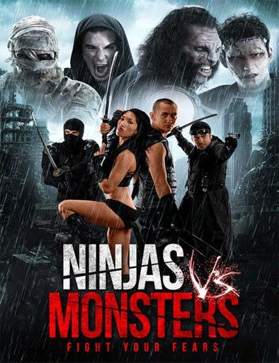 Ver Ninjas vs. Monsters (2013) Online
