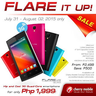 Cherry Mobile Flare Lite Quad