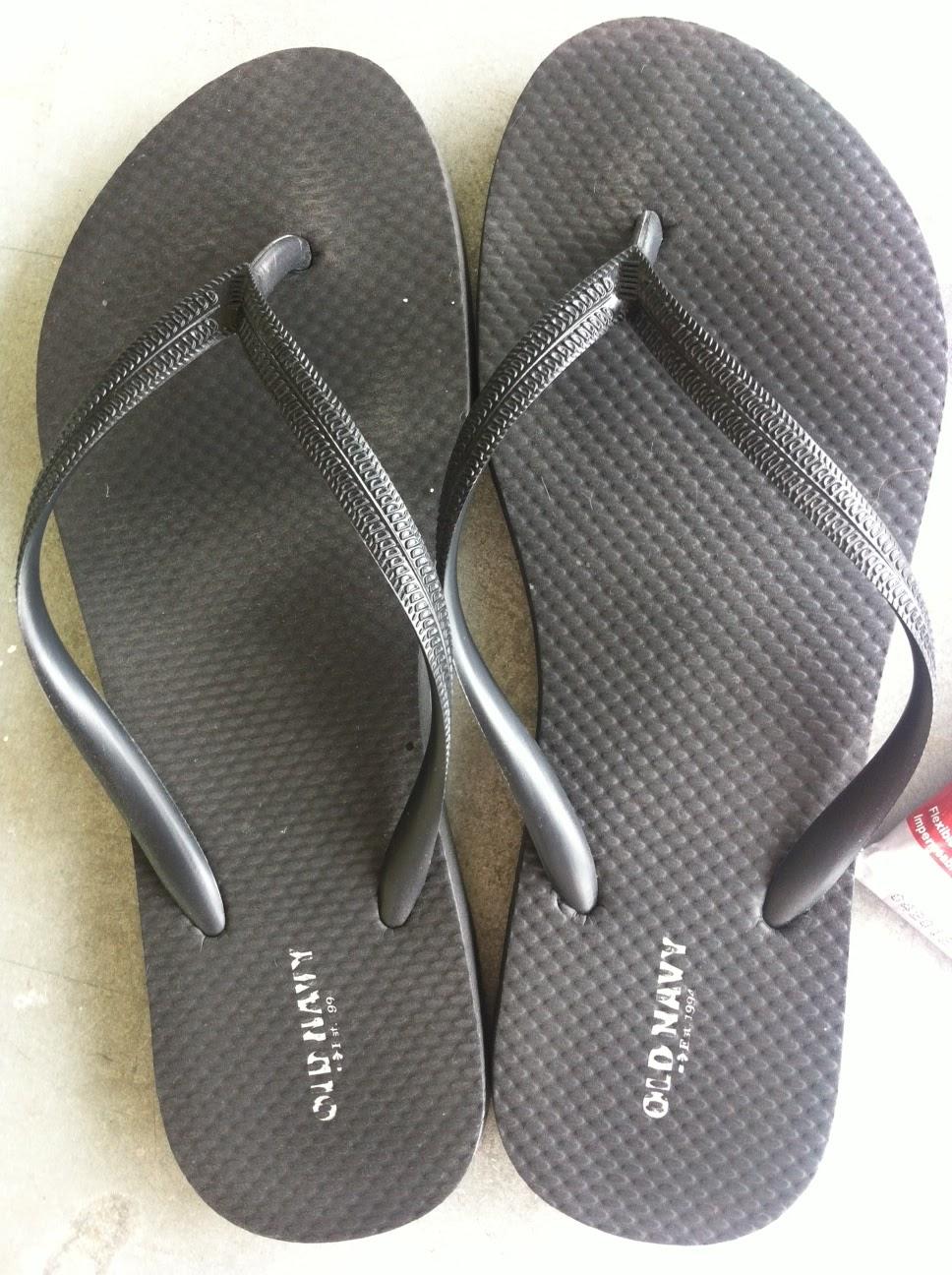 Black sandals old navy - E 6000 Glue