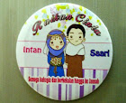 Printed Fridge Magnet Bulat