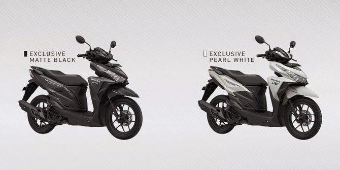 Varian warna dan model Honda Vario 150cc