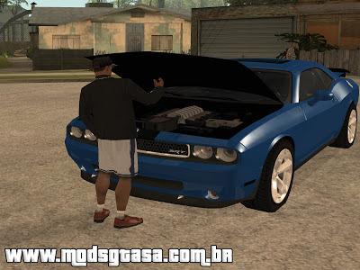 Abrir Porta Malas com as Mãos para GTA San Andreas