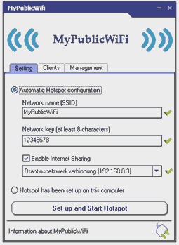 Turn your Windows PC into WiFi HotSpot