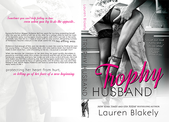 COVER REVEAL: Trophy Husband by Lauren Blakely