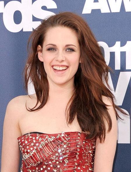 Kristen Stewart Big & Sexy Hairstyles