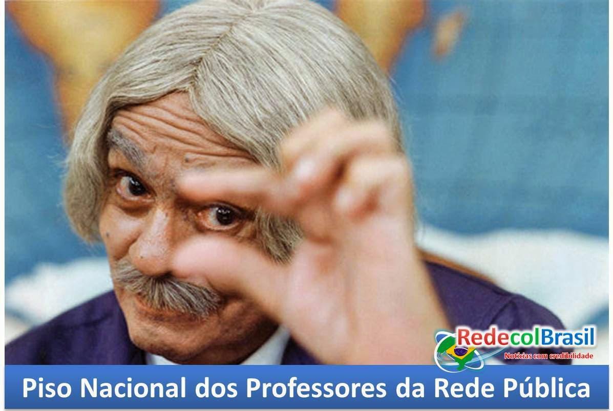 Piso Nacional de Professores 2015 é de R$ 1.917,78