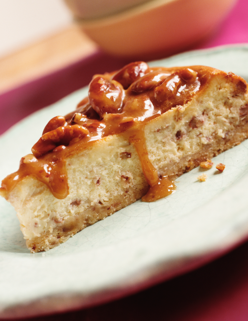 Scrumpdillyicious: Butterscotch Pecan Cheesecake