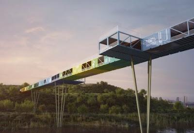 Ecotainer ponte de container