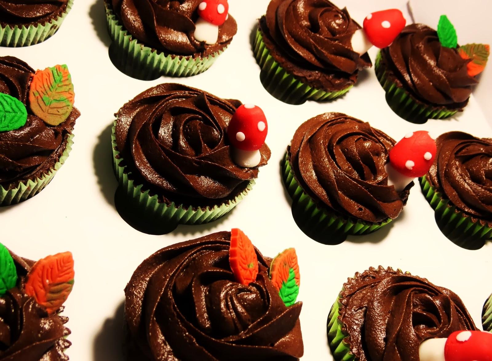 Cupcake de xocolata, El teu cupcake, Lleida, Cupcakes de tardor