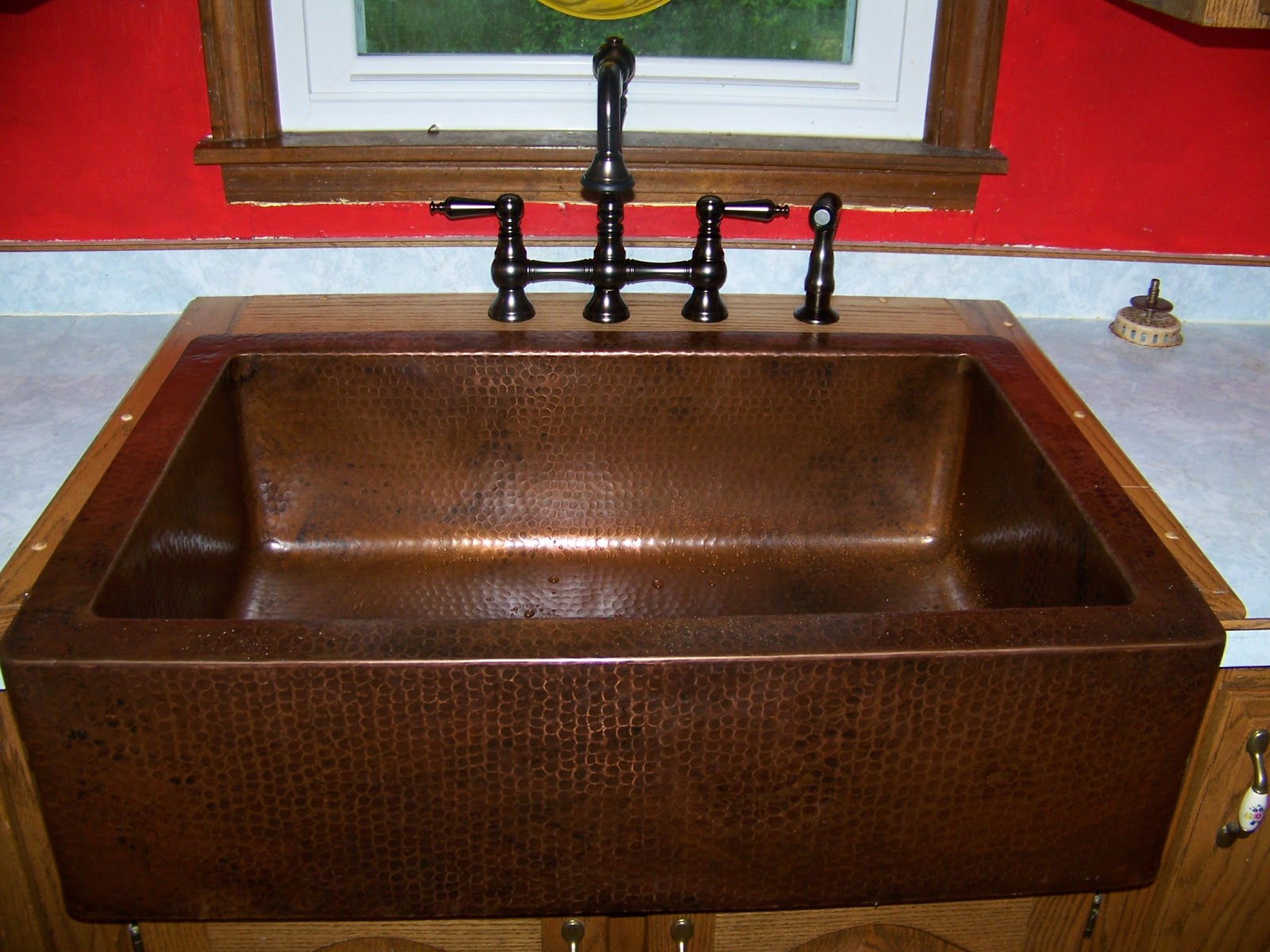 Ranch Style Sink : hammered copper farmhouse sink we always wanted a farmhouse sink