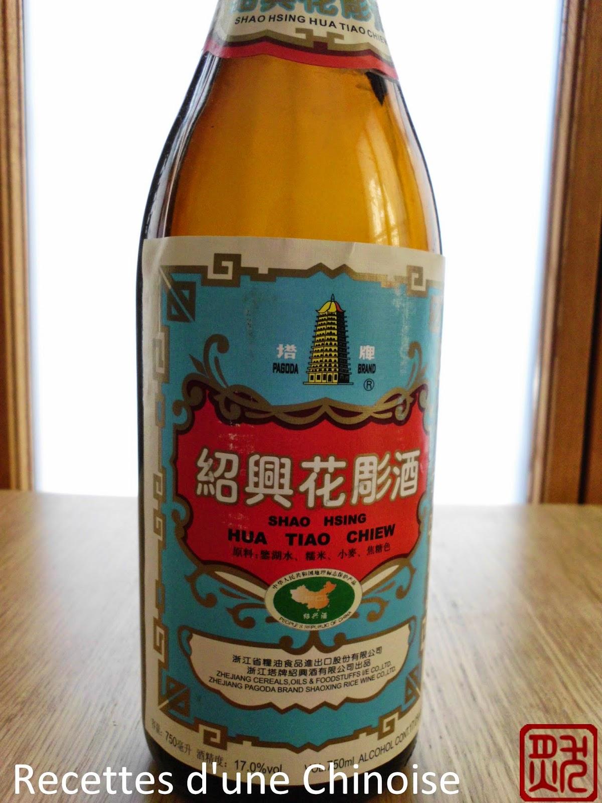 Recettes d 39 une chinoise vin jaune chinois li oji - Un chinois en cuisine ...