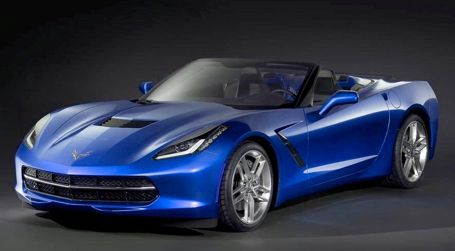 alfa img showing electric blue corvette - Corvette Stingray Light Blue