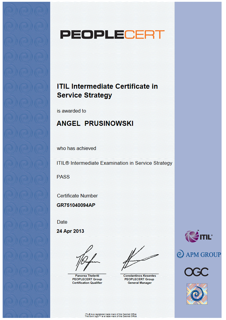 Tips for Passing ITIL MALC Exam Part 1- The ITIL Expert Paths | My ...