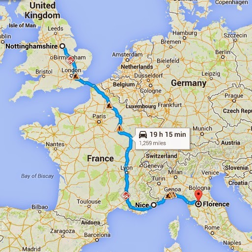 Travelling From Nice To Toulouse Roadtrip: Road Trip To France & Italy: The Plan
