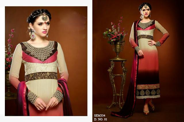 Newest Collection – Online New designer Anarkali Suit