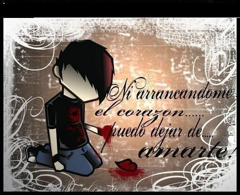 Amor Triste estilo Emo