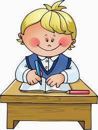 Image of a child sitting at a desk