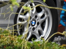Vorderrad eines BMW...^^
