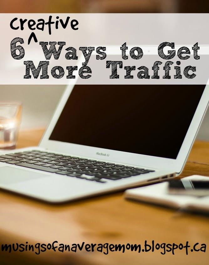 Ways to Get More Blog Traffic