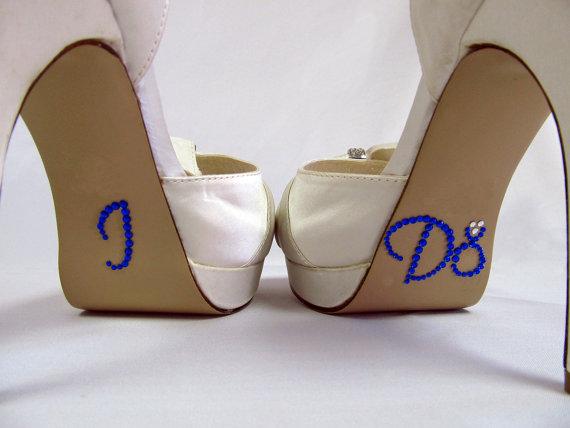 Favorite Things I DO Wedding Shoe Stickers