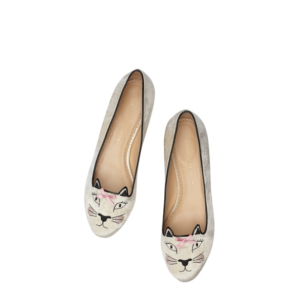Pretty Kitty - Charlotte Olympia 'Kitty & Co' Cat Flats Collection