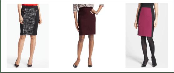 Simply Sophisticated Pencil Skirt vs. Dress Pants