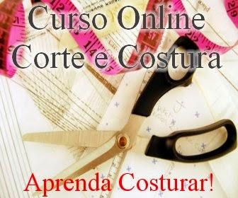 Curso corte e costura 24hs - curso online
