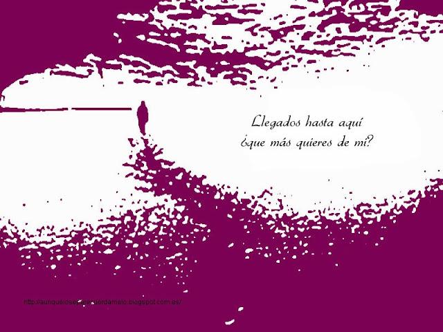 ilustracion camino silueta con pregunta