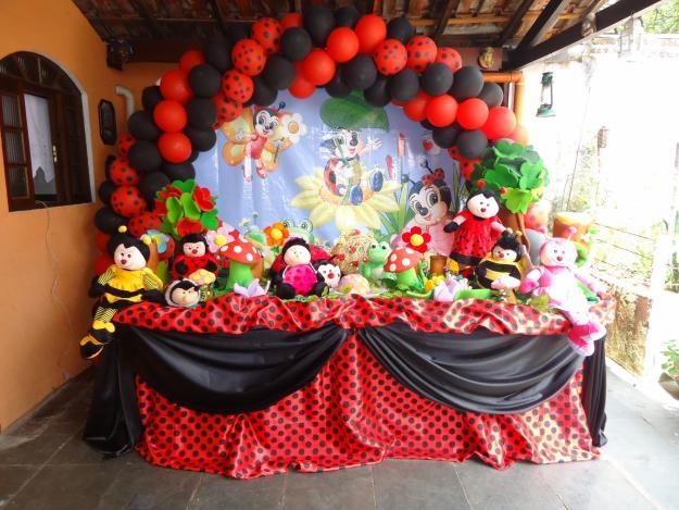 decoracao de festa infantil jardim das joaninhas 4256521877Winie
