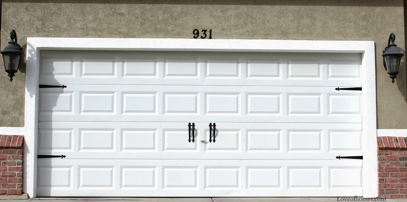 Love Of Homes Adding Hardware To Your Garage Doors