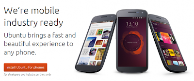 Ubuntu 13.10 is available and compatible mobile
