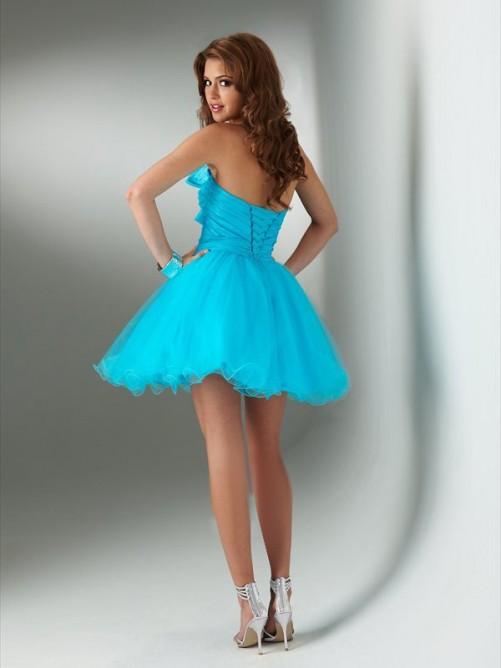 Cute Lace Dress - Burgundy Dress - Studded Dress - Skater