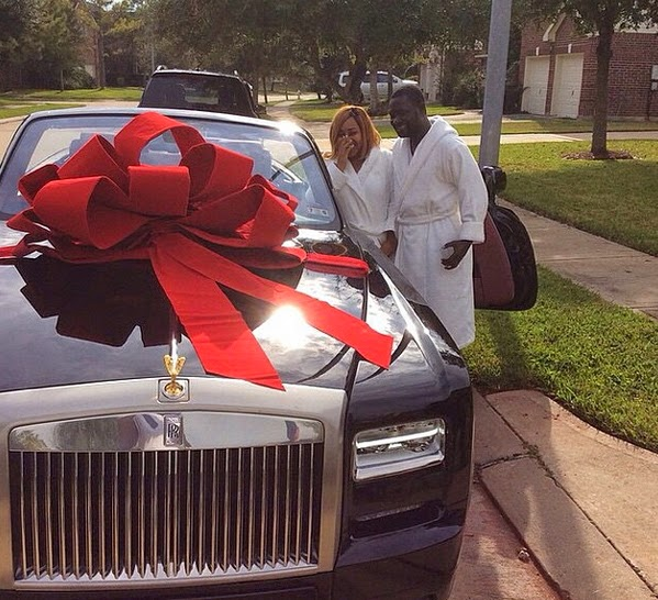 ayiri emami rolls royce car wife