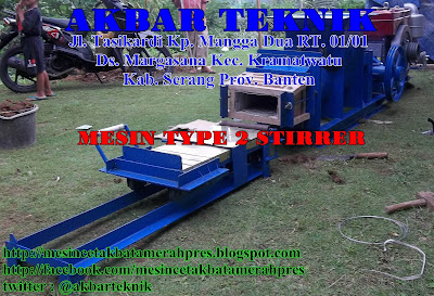 MESIN TYPE 2 STIRRER
