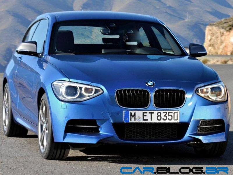 bmw s rie 1 m135i 2013 tem 320 cavalos de pot ncia car blog br. Black Bedroom Furniture Sets. Home Design Ideas