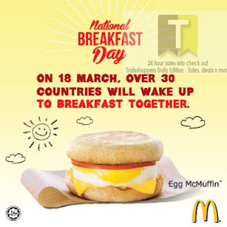 McDonald's National Breakfast Day FREE Egg McMuffin 2013