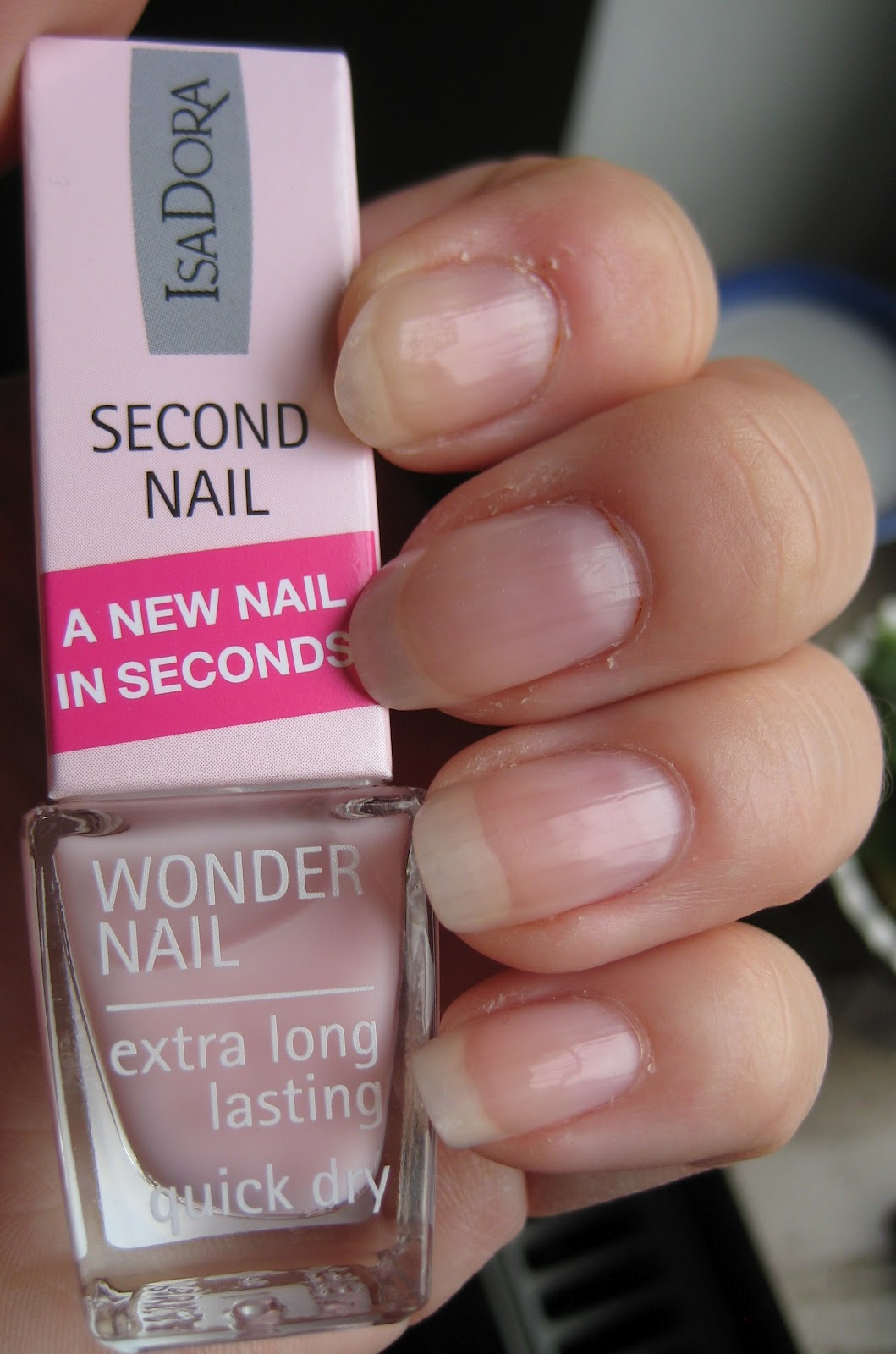 isadora second nail test