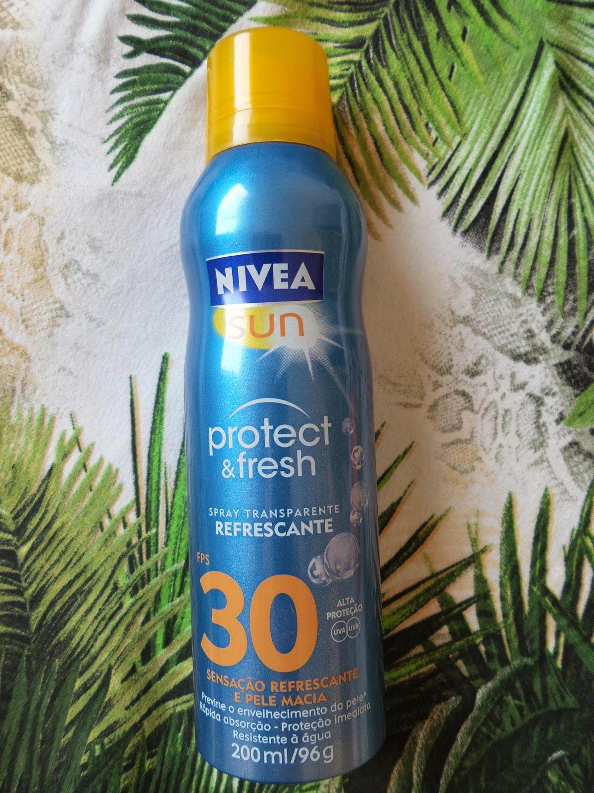 Protetor  Solar para o corpo Nívea SUN Protect & Fresh