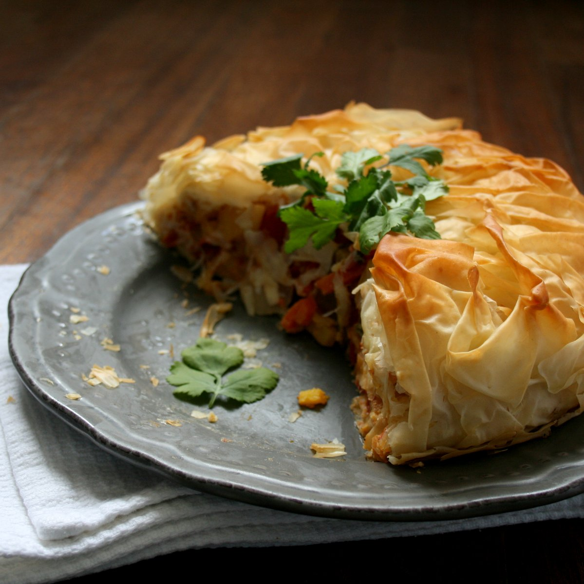 Cupcakes & Couscous: Roasted Thai Vegetable Pie