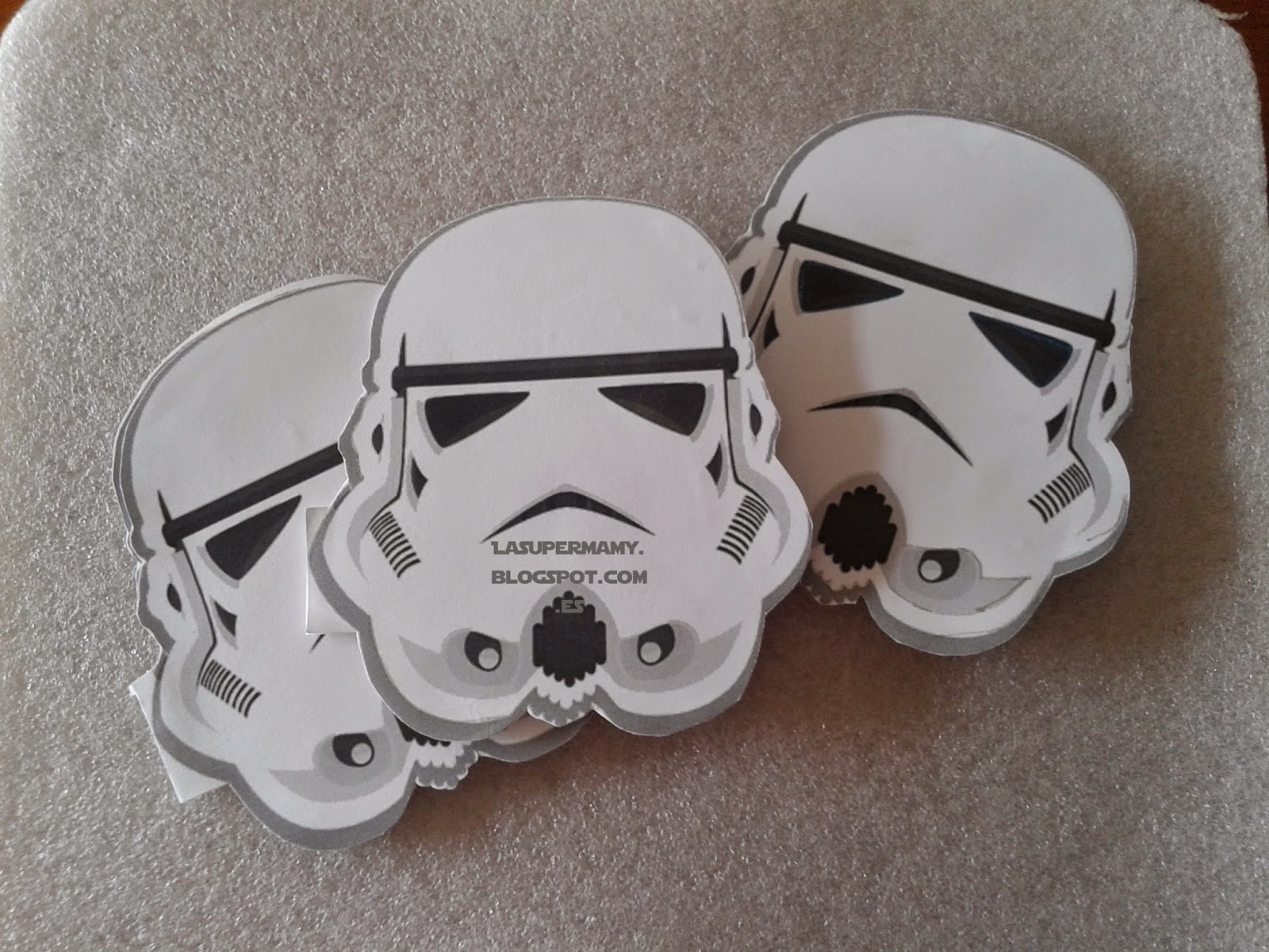 La Super Mamy: Cumple: Invitación Stormtrooper (Star Wars)