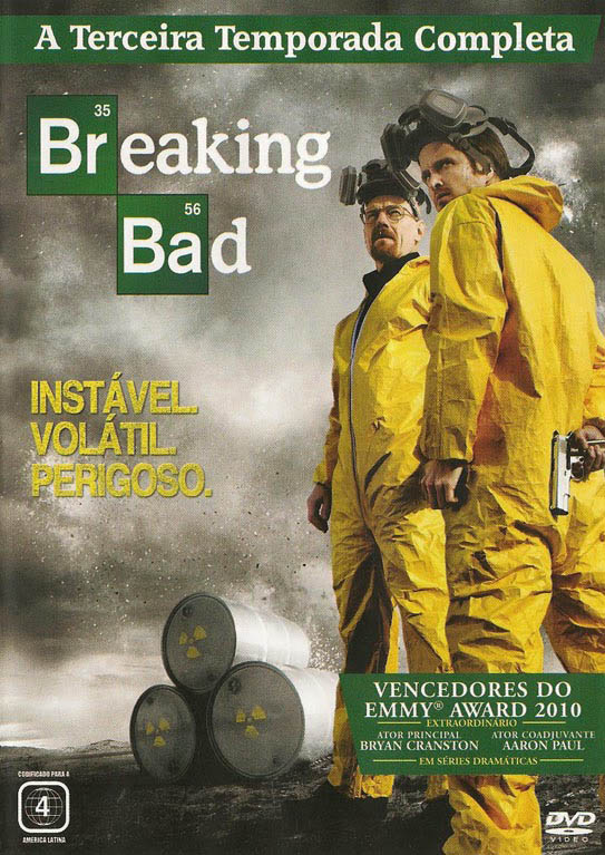 Breaking Bad 3ª Temporada Torrent - BluRay 720p Dual Áudio