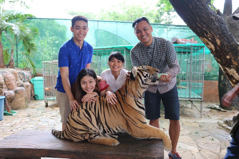 travel Vigan Ilocos Tour Sur Philippines tour tourism Baluarte zoo Chavit Singson tiger