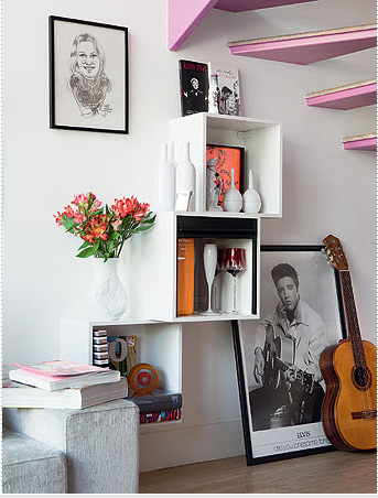 decorando com nichos, decoração com nichos na parede, decoração com reciclagem